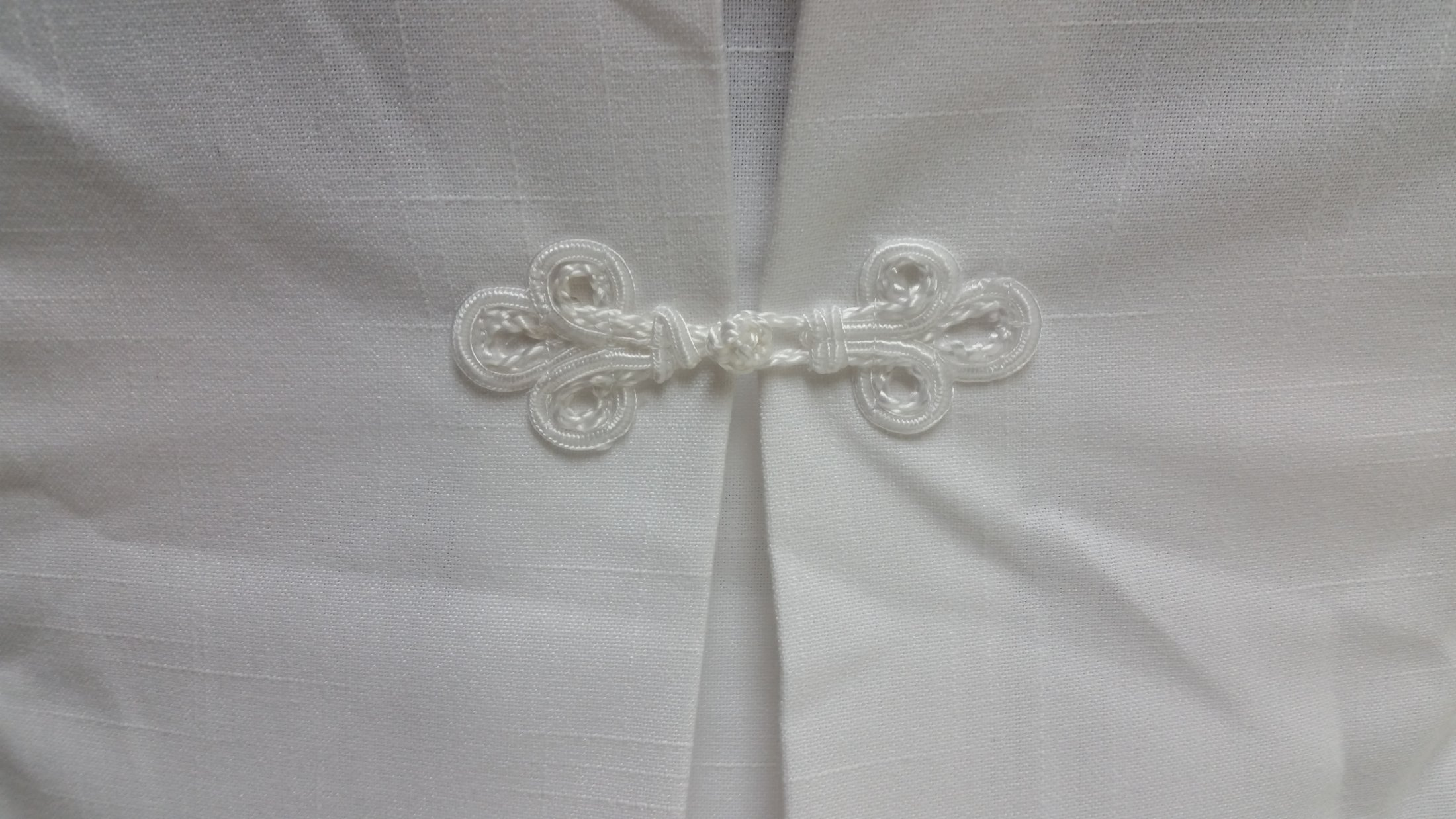 Chair cover back tie