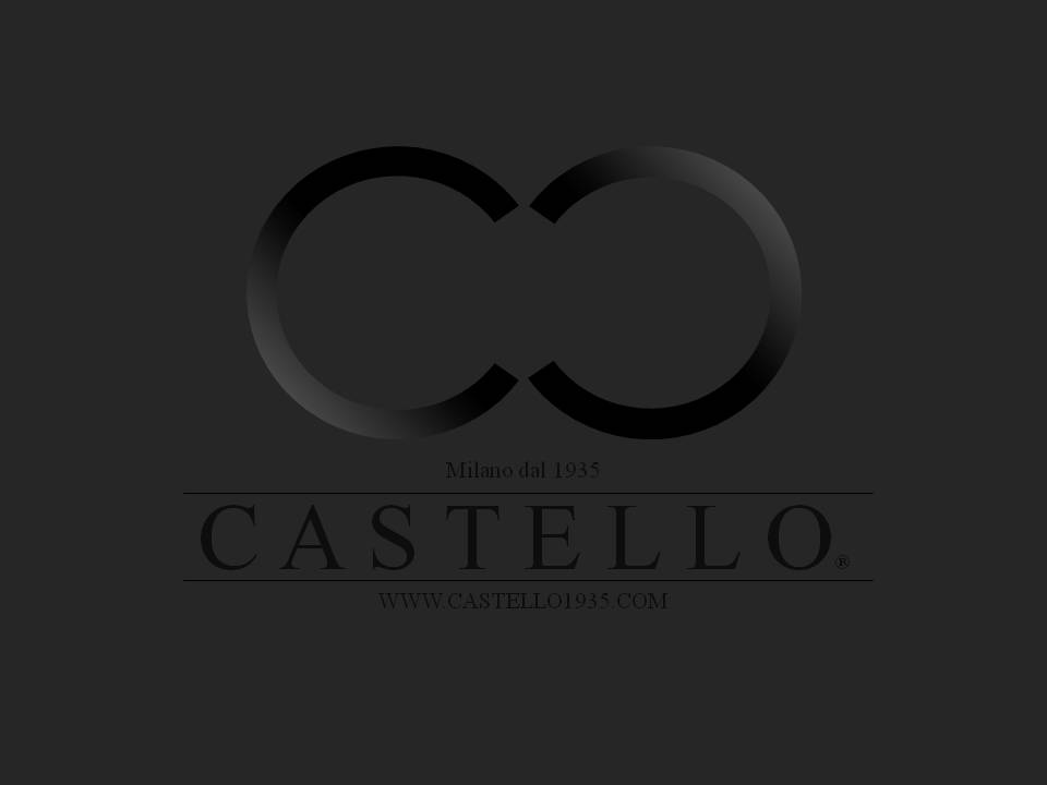 CASTELLO Logo Black On Grey