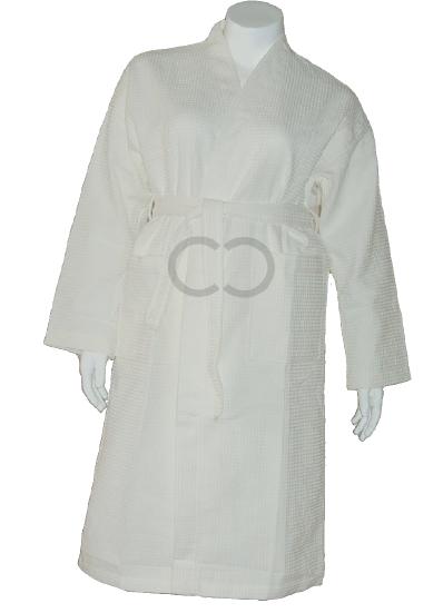 Kimono-Waffle Robe
