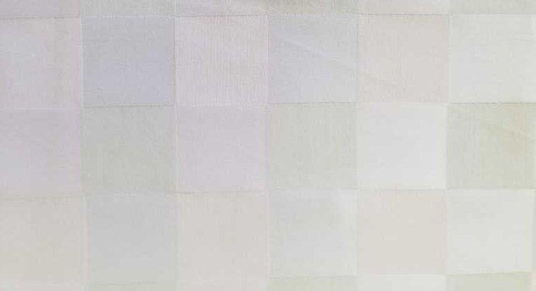 Lussuria Checker Bianco Avorio Salice