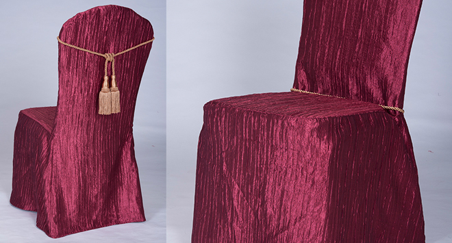 TUXEDO Collection Chair Covers Crinkle