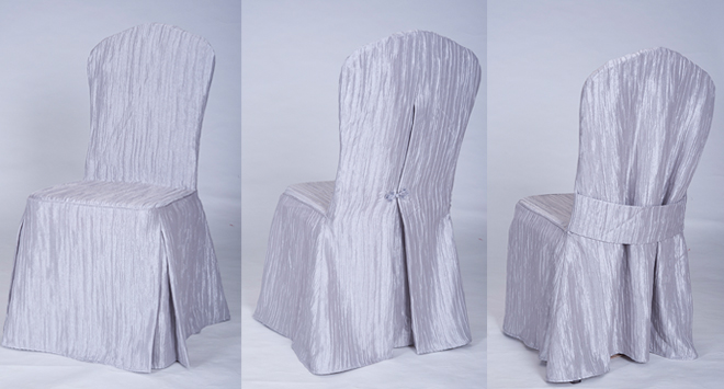 Tuxedo Collection Crinkle Chair Cover 2