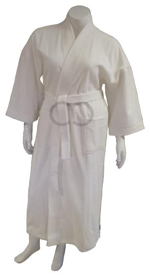 Kimono-Velour Robe