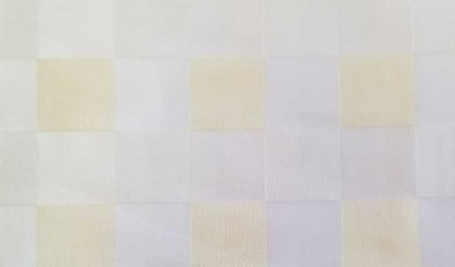 Lussuria Checker Bianco Avorio Paglia