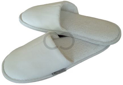 Closed Toe Peach Skin Slipper