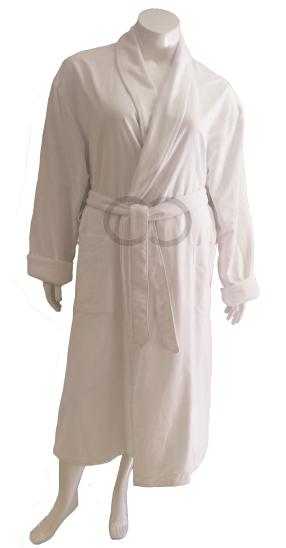 Peach-Fleece Robe