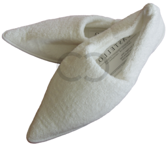 Pointed Toe Terry Slipper
