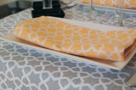 Table Linen Oman Pattern