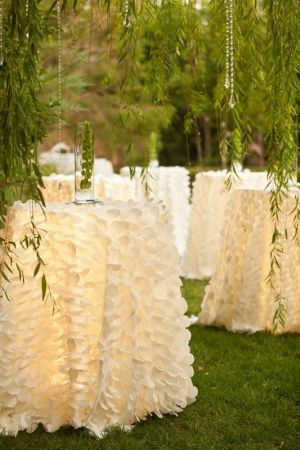 Ruffled Table Cloth