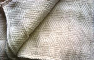 CASTELLO Verde Diamond Blanket